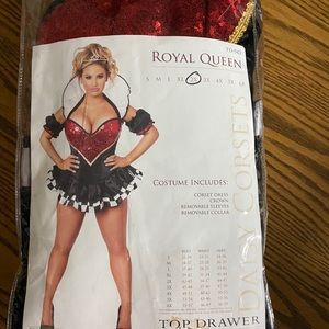 New Sexy Queen of Hearts Costume